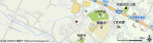 大分県玖珠郡玖珠町山田331周辺の地図
