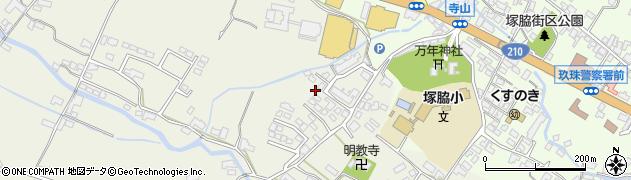 大分県玖珠郡玖珠町山田361周辺の地図