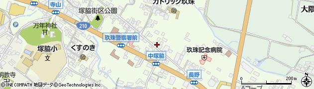 大分県玖珠郡玖珠町塚脇430周辺の地図