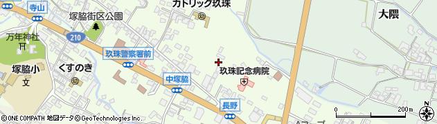 大分県玖珠郡玖珠町塚脇440周辺の地図