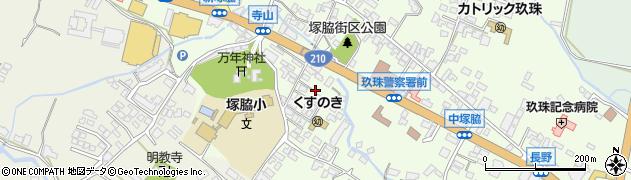 大分県玖珠郡玖珠町塚脇262周辺の地図