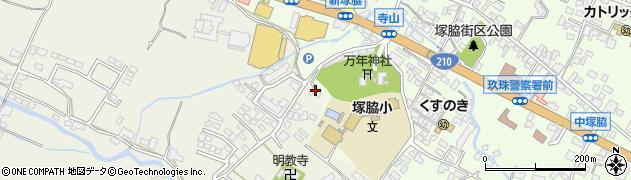 大分県玖珠郡玖珠町塚脇194周辺の地図