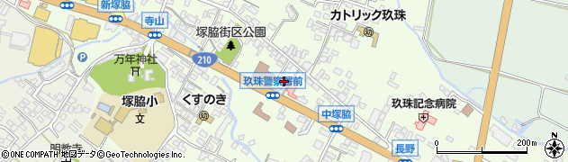 大分県玖珠郡玖珠町塚脇461周辺の地図