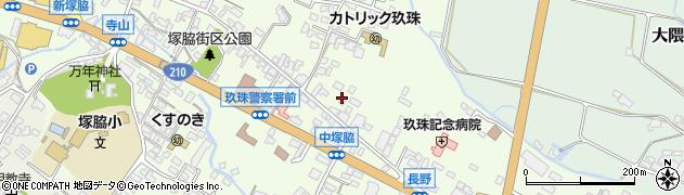 大分県玖珠郡玖珠町塚脇431周辺の地図
