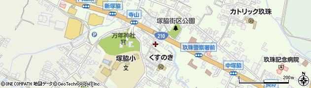 大分県玖珠郡玖珠町塚脇261周辺の地図