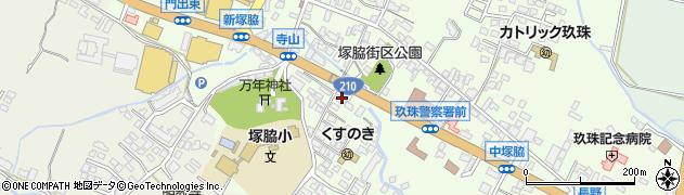 大分県玖珠郡玖珠町塚脇259周辺の地図
