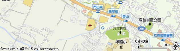大分県玖珠郡玖珠町山田329周辺の地図