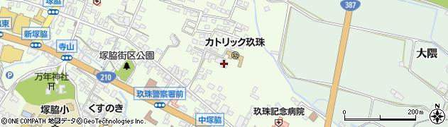 大分県玖珠郡玖珠町塚脇425周辺の地図