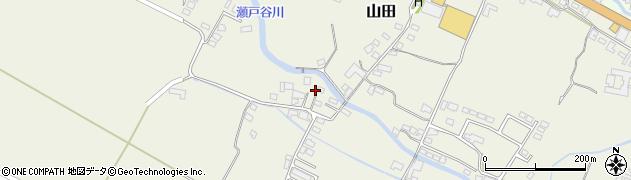 大分県玖珠郡玖珠町山田2270周辺の地図