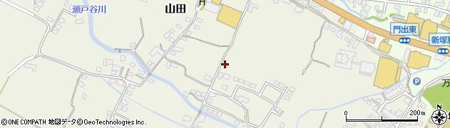 大分県玖珠郡玖珠町山田262周辺の地図