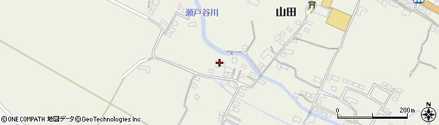 大分県玖珠郡玖珠町山田2267周辺の地図