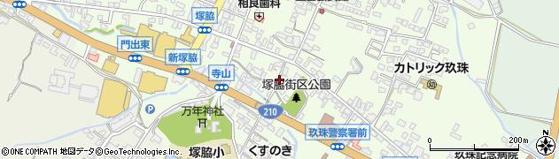 大分県玖珠郡玖珠町塚脇271周辺の地図