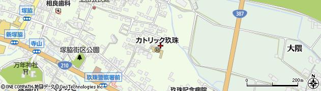 大分県玖珠郡玖珠町塚脇420周辺の地図