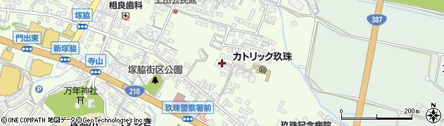 大分県玖珠郡玖珠町塚脇394周辺の地図
