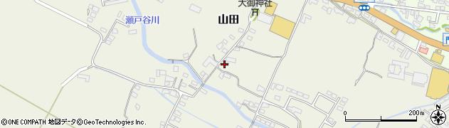 大分県玖珠郡玖珠町山田234周辺の地図