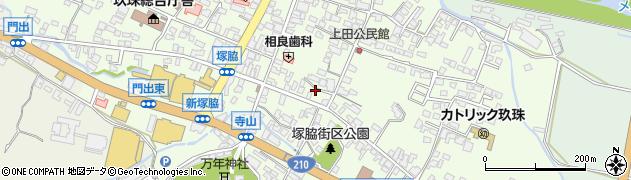 大分県玖珠郡玖珠町塚脇301周辺の地図