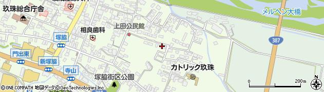 大分県玖珠郡玖珠町塚脇399周辺の地図