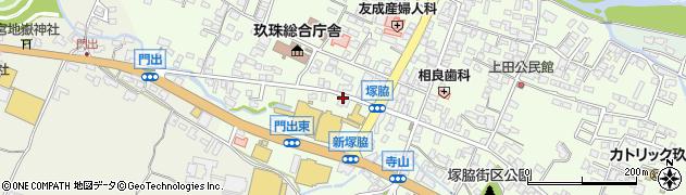 大分県玖珠郡玖珠町塚脇178周辺の地図