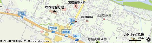 大分県玖珠郡玖珠町塚脇317周辺の地図