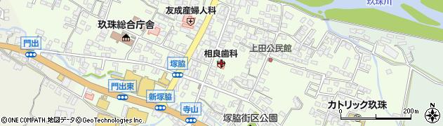 大分県玖珠郡玖珠町塚脇348周辺の地図