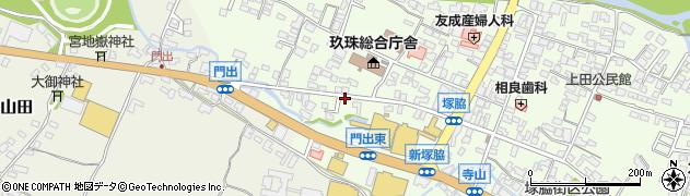 大分県玖珠郡玖珠町塚脇163周辺の地図