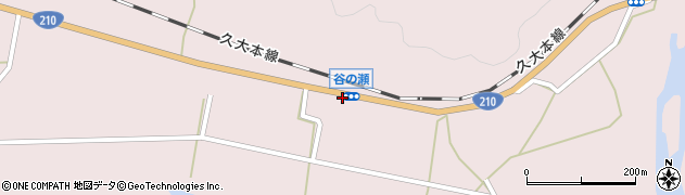 大分県玖珠郡玖珠町戸畑203周辺の地図