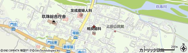 大分県玖珠郡玖珠町塚脇345周辺の地図