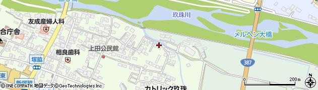 大分県玖珠郡玖珠町塚脇406周辺の地図