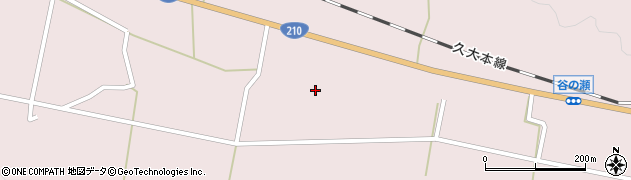 大分県玖珠郡玖珠町戸畑891周辺の地図