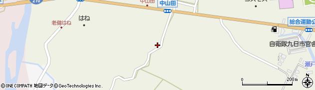 大分県玖珠郡玖珠町山田2510周辺の地図