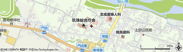 大分県玖珠郡玖珠町塚脇134周辺の地図