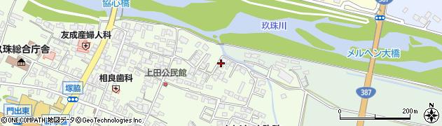 大分県玖珠郡玖珠町塚脇412周辺の地図