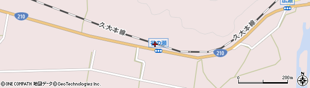 大分県玖珠郡玖珠町戸畑622周辺の地図