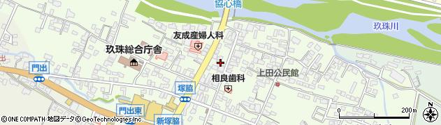 大分県玖珠郡玖珠町塚脇323周辺の地図