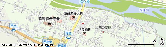 大分県玖珠郡玖珠町塚脇322周辺の地図