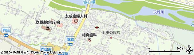 大分県玖珠郡玖珠町塚脇352周辺の地図