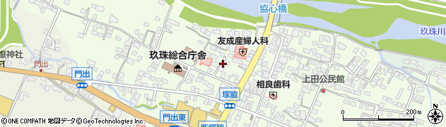 大分県玖珠郡玖珠町塚脇130周辺の地図