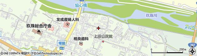 大分県玖珠郡玖珠町塚脇353周辺の地図