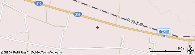 大分県玖珠郡玖珠町戸畑竹ノ中周辺の地図