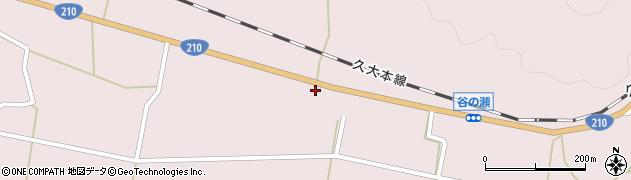 大分県玖珠郡玖珠町戸畑796周辺の地図