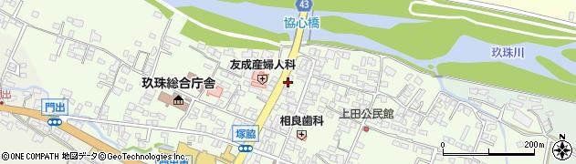 大分県玖珠郡玖珠町塚脇328周辺の地図