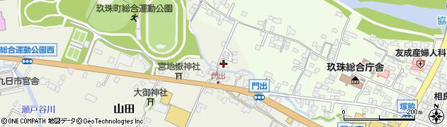 大分県玖珠郡玖珠町山田115周辺の地図