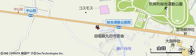 大分県玖珠郡玖珠町山田2291周辺の地図
