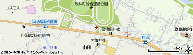 大分県玖珠郡玖珠町山田87-1周辺の地図