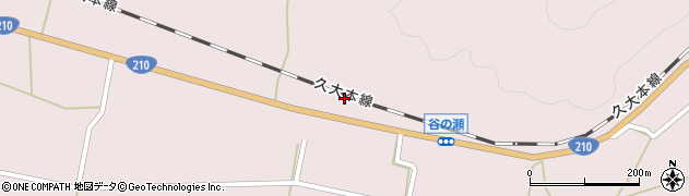 大分県玖珠郡玖珠町戸畑645周辺の地図