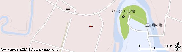 大分県玖珠郡玖珠町戸畑三本杉周辺の地図