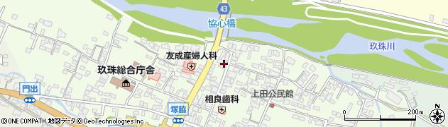 大分県玖珠郡玖珠町塚脇330周辺の地図