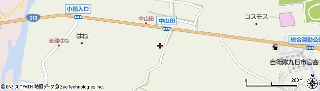 大分県玖珠郡玖珠町山田2517周辺の地図