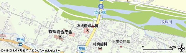 大分県玖珠郡玖珠町塚脇331周辺の地図