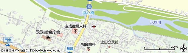 大分県玖珠郡玖珠町塚脇337周辺の地図